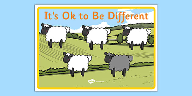 It's OK To Be Different Autism Awareness Poster - its ok to be different, autism awareness, poster