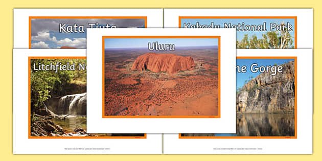 Northern Territory Natural Features Photo Pack - australia, rivers, lakes, mountains, natural, tourist attraction, landscape, landmark