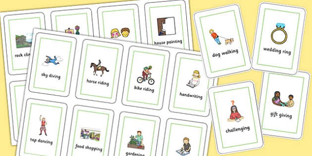 Three Syllable Final 'ng' Sound Flash Cards - final ng, sound, flash cards