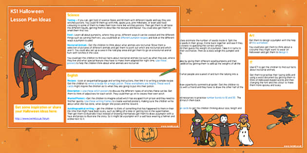 Halloween Lesson Plan Ideas KS1- halloween, halloween lessons, KS1 lesson plan, KS1 halloween, halloween lessons, lesson plans, lesson ideas