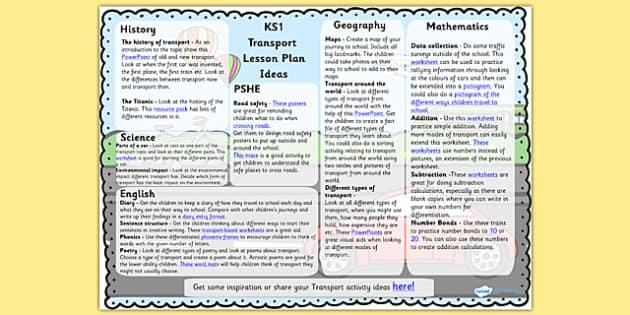 Transport Lesson Plan Ideas - transport, lesson plan, transport lesson, transport ideas, lesson plan ideas, transport ideas, lesson plan about transport