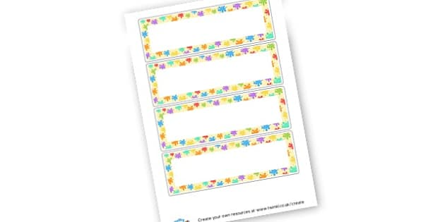 Creative Area Word Cards - Creative Area Primary Resources, sign, area, zones, banner, poster