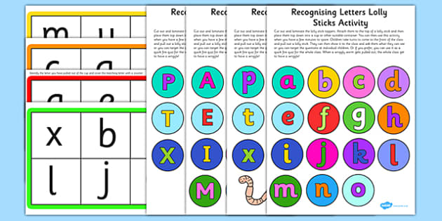 Letter Recognition Wriggly Worm Activity EYFS Resource Pack - EYFS planning, early years activities, letters and sounds, phase 2, phonics