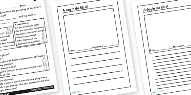 Living In Athens Worksheets - living in athens, athens, athens worksheet, pretending to live in athens, greece, greek history, ancient greece, ks2 history