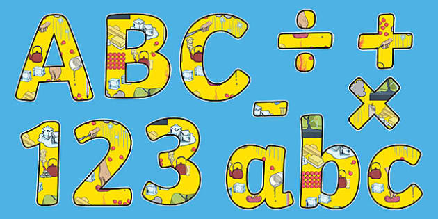 States of Matter Themed Display Letters and Numbers Pack - Science lettering, Science display, Science display lettering, states of matter, display lettering, display, letter
