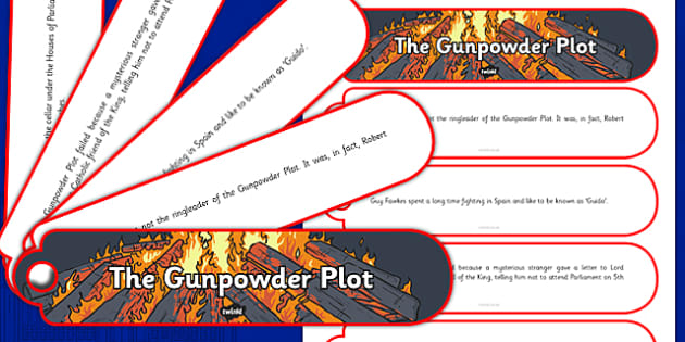 The Gunpowder Plot Facts Fan Book - gunpowder plot, facts, fan book