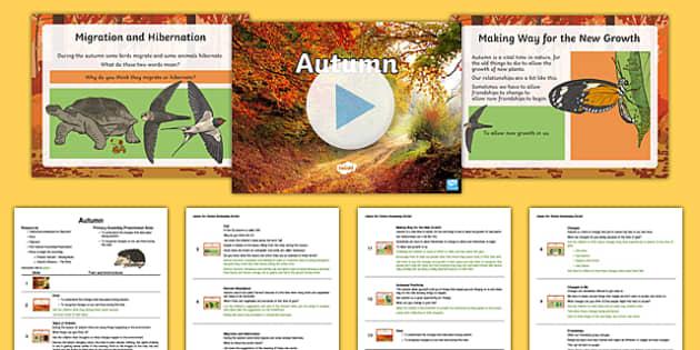 KS2 Autumn Assembly Pack