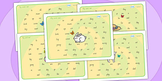 Easter Themed Word Mat FS2 - easter, word mat, keywords, FS2