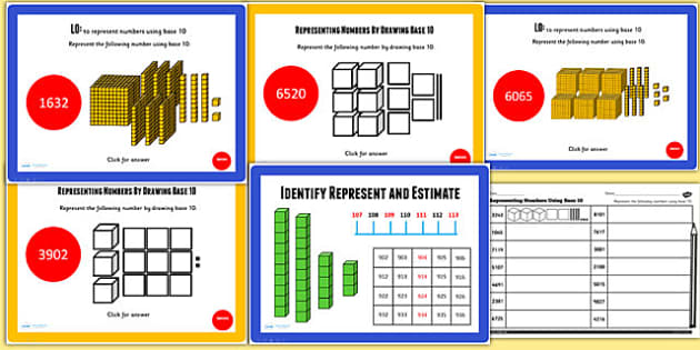 Year 4 Identify Represent Estimate Lesson 1 Teaching Pack - maths