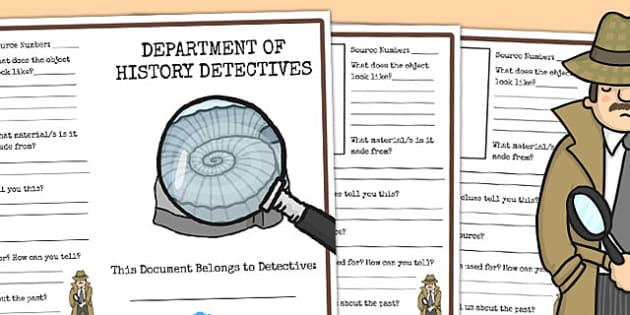 History Detective Sources Writing Frame - writing frame, history