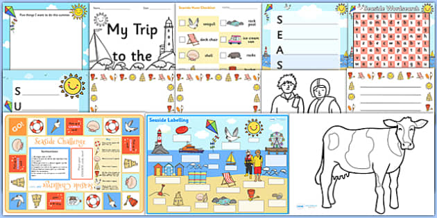 Summer Activity Pack - summer, activities, wordsearch, games, fun