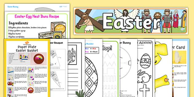 TA Easter Resource Pack - ta, easter, resource, pack, celebrate