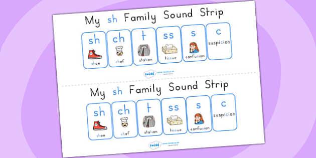 My sh Family Sound Strip - sound, sound production, sound strip