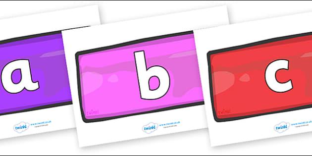 Phoneme Set on Bricks (Multicolour) - Phoneme set, phonemes, phoneme, Letters and Sounds, DfES, display, Phase 1, Phase 2, Phase 3, Phase 5, Foundation, Literacy