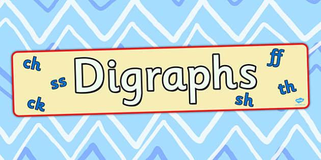 Digraph Display Banner - digraph, display, banner, display banner