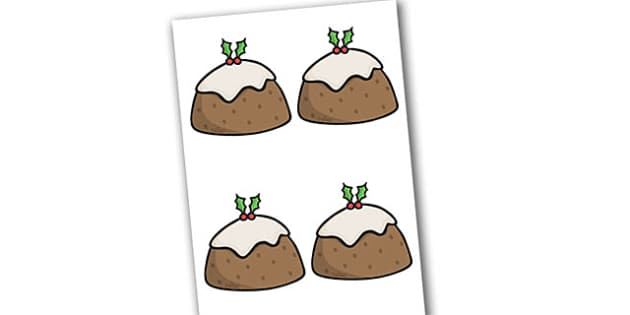 Editable Decorated Christmas Puddings - Christmas, xmas, pudding, editable, tree, advent, nativity, santa, father christmas, Jesus, tree, stocking, present, activity, cracker, angel, snowman, advent , bauble