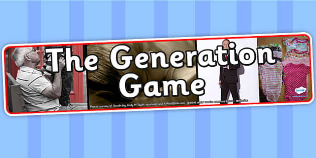 The Generation Game IPC Photo Display Banner - generation game, IPC display banner, IPC, generation game display banner, IPC display, generations