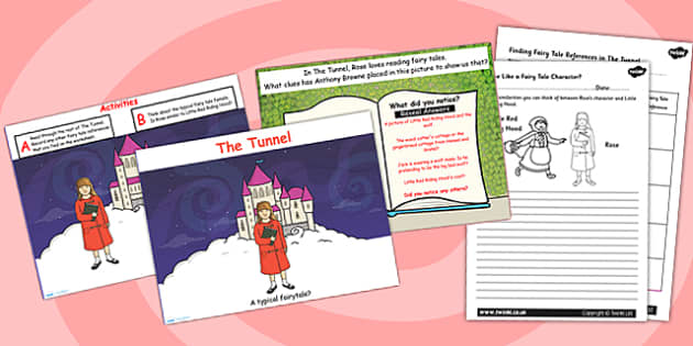 A Typical Fairytale Differentiated Lesson Teaching Pack (Flipchart) to Support Teaching on The Tunnel