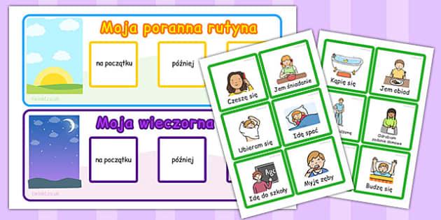 Zajecia codzienne po polsku - dzieci, szkola, wydawnictwo, Polish