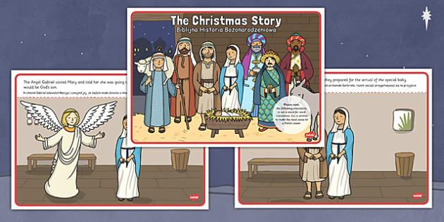 The Christmas Story Polish Translation - polish, christmas story, christmas, story
