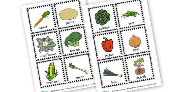 Vegetables and Fruit - Fruit and Vegetables Primary Resources, fruits, healthy eating