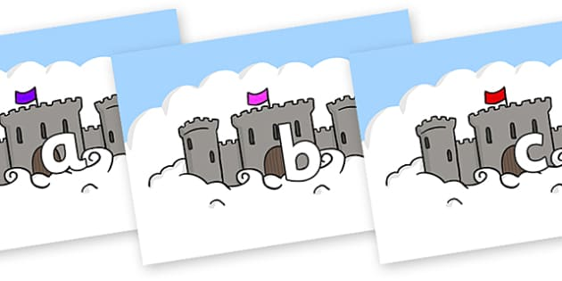 Phase 2 Phonemes on Castles - Phonemes, phoneme, Phase 2, Phase two, Foundation, Literacy, Letters and Sounds, DfES, display