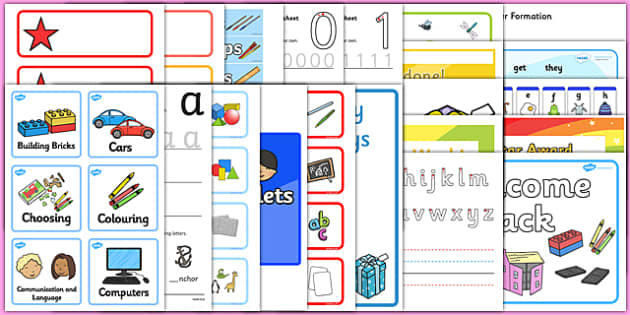EYFS Classroom Set Up Pack for NQTs - class set up, NQT Pack