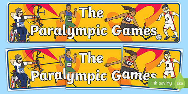 The Paralympic Games Display Banner
