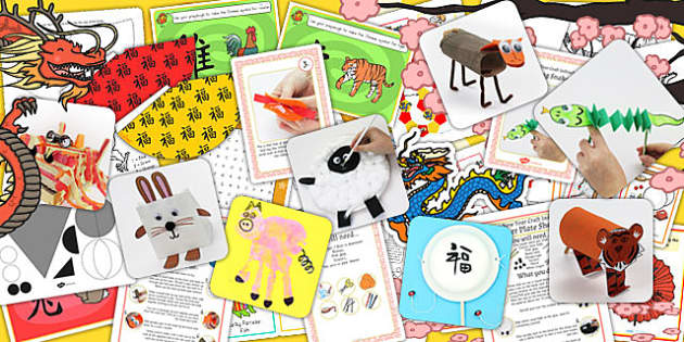 Chinese New Year Craft and Activity Pack - chinese new year