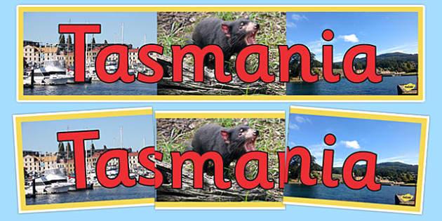 Tasmania Display Banner - australia, States and Territories, Tas, Tasmania, display