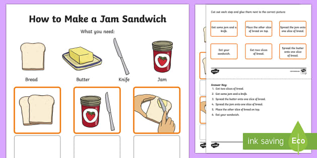 how to make a sandwich instructions