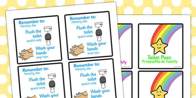 Toilet Passes Polish Translation - polish, toilet, passes, toilet passes