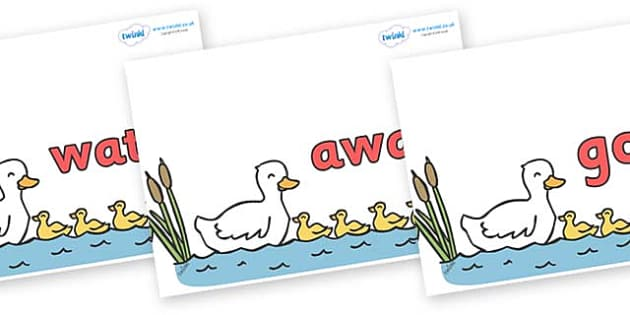 Next 200 Common Words on Five Little Ducks - Next 200 Common Words on  - DfES Letters and Sounds, Letters and Sounds, Letters and sounds words, Common words, 200 common words