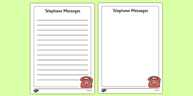 Doctor's Surgery Telephone Message Notes - Doctors surgery role play, doctor, nurse, surgery, role play, doctors role play, people who help us role play, people who help us, Display signs, display
