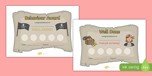 Pirate Sticker Reward Certificates (30mm) - Pirate Reward Certificate (30mm), pirate, reward certificate, certificate, reward, 30mm, 30 mm, stickers, twinkl stickers, award, certificate, well done, behaviour management, behaviour, pirate, pirates, sh