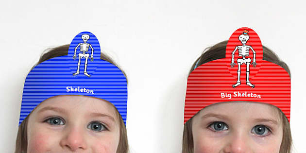 Role Play Headbands to Support Teaching on Funny Bones - roleplay, props, story books
