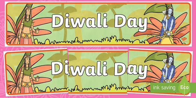 Diwali Day Display Banner