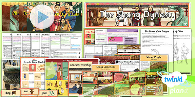 PlanIt - History UKS2 - The Shang Dynasty Unit Pack - planit, history, uks2, the shang dynasty, unit pack
