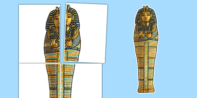 Large A2 Sarcophagus Display Cut Out Ancient Egypt - large, a2, sarcophagus, display, cut out, ancient egypt
