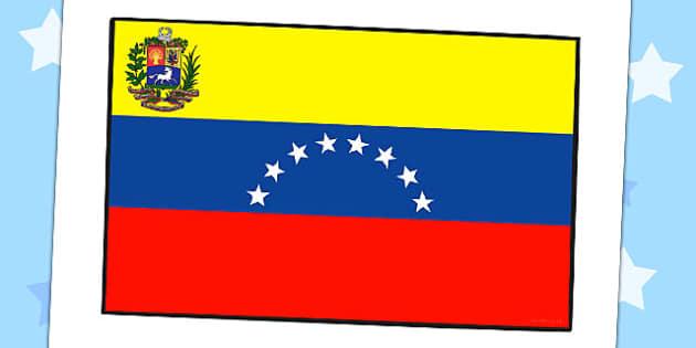 Editable Venezuela Flag - venezuela, countries, flag, display