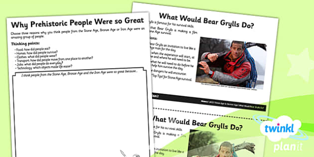 PlanIt - History UKS2 - Stone Age to the Iron Age Unit Home Learning Tasks