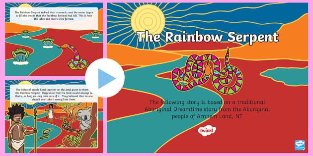 The Rainbow Serpent PowerPoint-Australia
