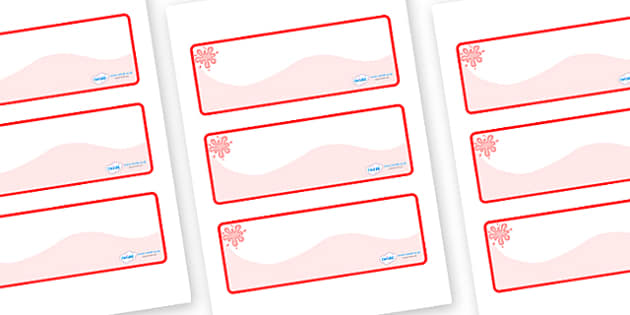 Red Themed Editable Drawer-Peg-Name Labels (Colourful) - Themed Classroom Label Templates, Resource Labels, Name Labels, Editable Labels, Drawer Labels, Coat Peg Labels, Peg Label, KS1 Labels, Foundation Labels, Foundation Stage Labels, Teaching Labe