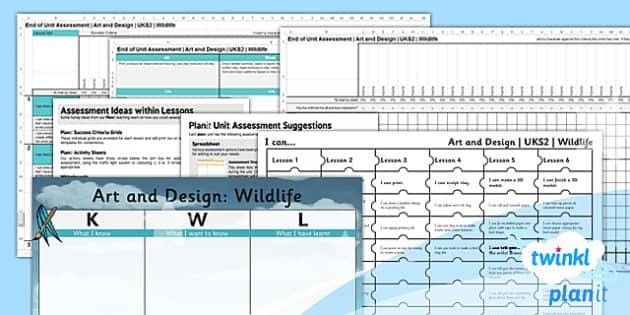 PlanIt - Art UKS2 - Wildlife Birds Unit Assessment Pack - planit, art, uks2, wildlife birds, unit, assessment, pack