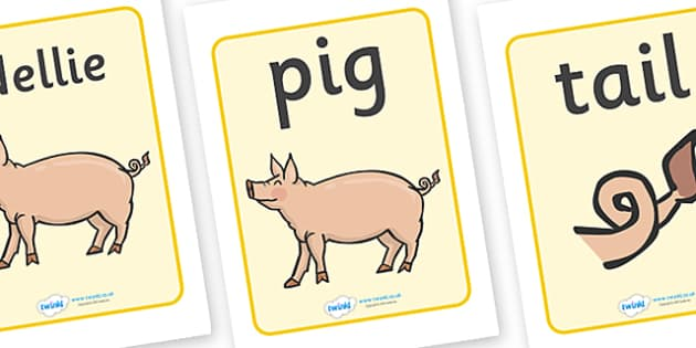 Display Posters to Support Teaching on Pig in the Pond - Pig in the Pond, Martin Waddell, resources, Very Hot Day, Neligan, Neligan's pig, ducks, geese, pond, animals, story, story book, story book resources, story sequencing, story resources, Displa