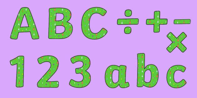 Birthday Themed Display Lettering 3 - birthday, lettering, letter