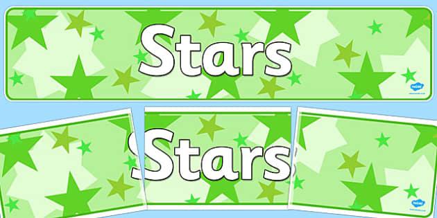 Stars Display Banner - stars, display banner, display, banner
