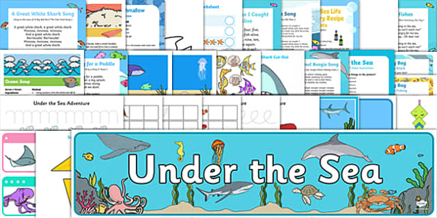 Childminder Under The Sea Resource Pack