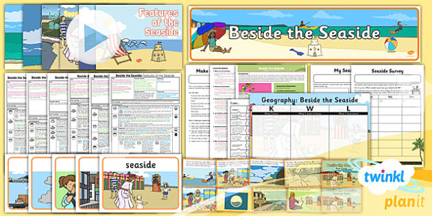 PlanIt - Geography Year 2 - Beside the Seaside Unit Pack