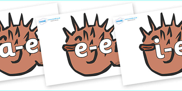 Modifying E Letters on Puffer Fish - Modifying E, letters, modify, Phase 5, Phase five, alternative spellings for phonemes, DfES letters and Sounds